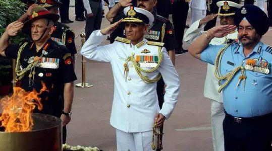 Rajnath Singh rolls out first phase of  Indian Army restructuring plan
